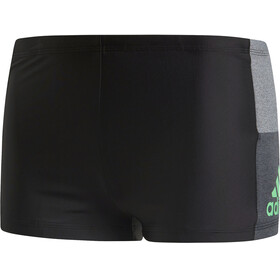 adidas Fitness Colourblock 3 Stripes Boxer Men Black/Shock Lime